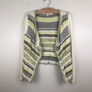Anthropologie Moth Cardigan Knit Sweater Jacket